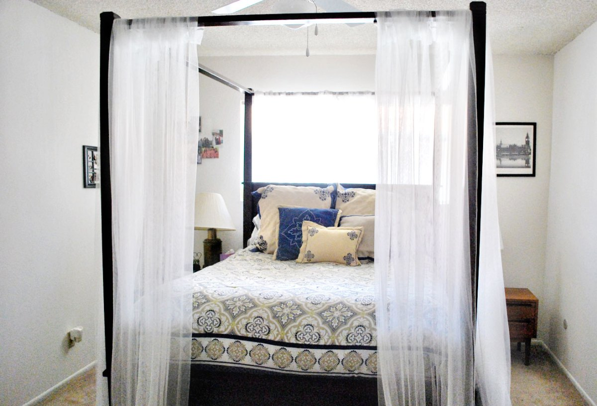 Canopy Bed Curtains – Hello lovely